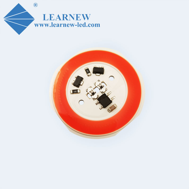 AC COB LED R38mm 380-780nm flip chip ac 220v 10w
