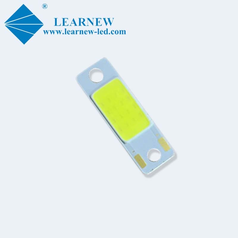 10*30mm flip chip cob led 140lm/w 8w 12v for motorcycle headlight